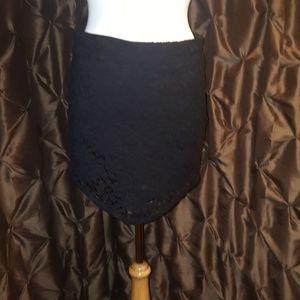 Betsey Johnson Crochet Skirt